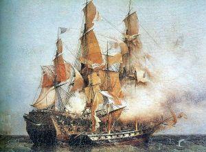Pirate Ship off Kent